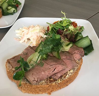 nest festive lunches open sandwiches pic